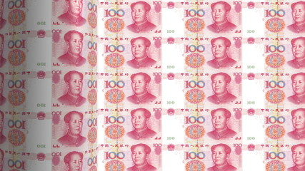Chinese yuan printing