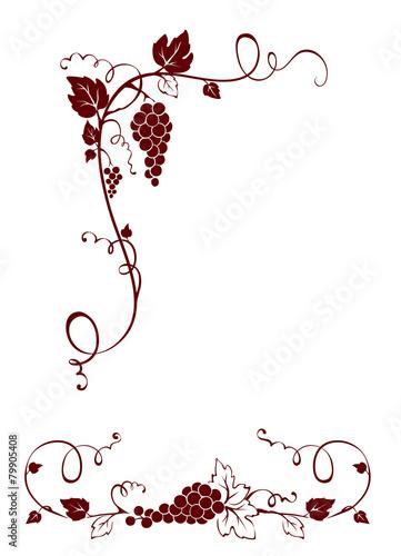Vintage design elements -- vine © imagination13