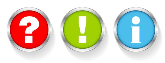 Sticker Question, Answer & Information Silver