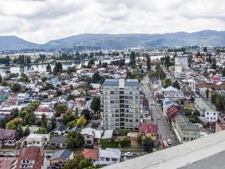 Valdivia von oben