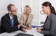 Geschäftliche Besprechung im Büro: Frauenquote
