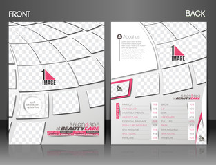 Beauty Care & Salon Flyer Template