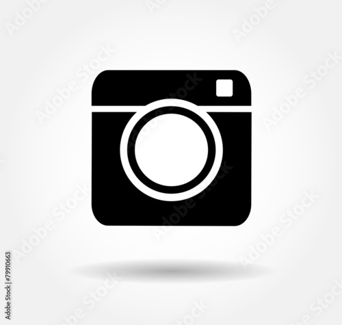 Hipster camera photo - 79910663