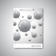 Modern abstract template layout for brochure, magazine, flyer