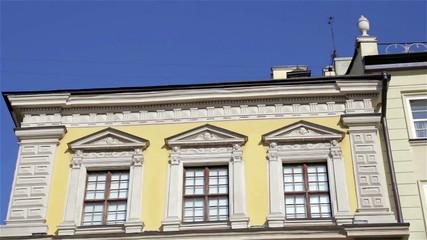 exterior building facade