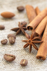 Cinnamon, anise and nuts