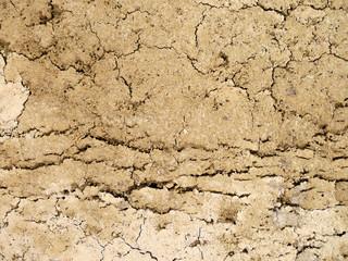 Risse im Boden