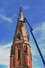Kirchensanierung