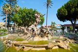 Fountain of Proserpine, Catania (Catania) Sicily.