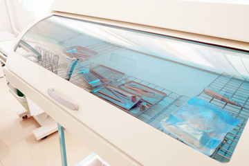 Sterilization of dental appliances