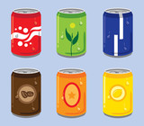 Soft Drink Cans