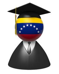 Venezuela college graduate concept for schools and education