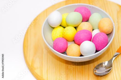 Foto op Plexiglas Magnolia Ovetti di Pasqua