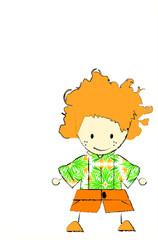 Redhead boy