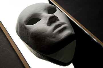 Theatrical mask reflection