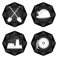 Badges coal industry-2