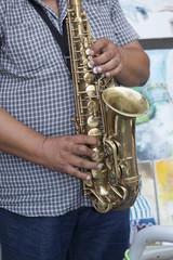 Il suonatore di sax