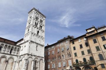 Piazza del Duomo,Lucca