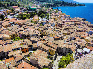 Top view of Malcesine