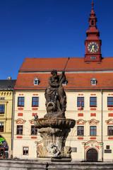 Neptune statue, Jihlava, Czech republic