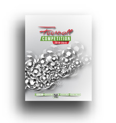 Football Competition Postar Template Design