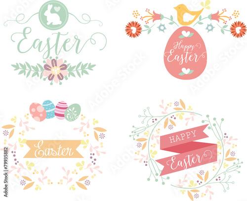 Zdjęcia na płótnie, fototapety, obrazy : Easter vintage