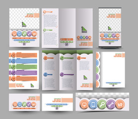 Apps Development Stationery Set Template