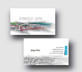 Modern Business Card Vector Template