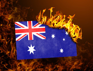Flag burning - Australia
