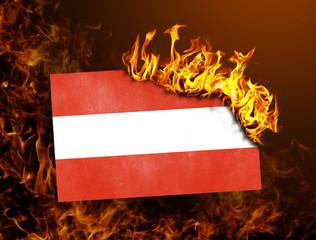 Flag burning - Austria