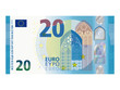 Neuer 20 Euro Schein ab November 2015 Vektor - 79937057