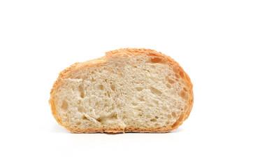 Section of sourdough bread