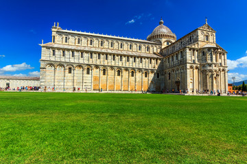 The Pisa dome near leaning tower,Italy,Europe