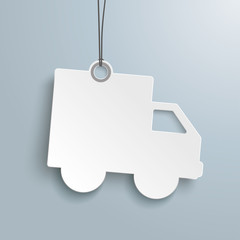 Shipping Paper Car Price Sticker