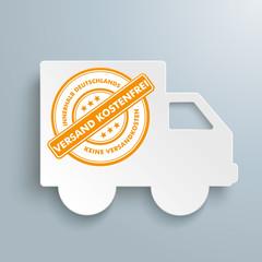 Freier Versand Shipping Paper Car