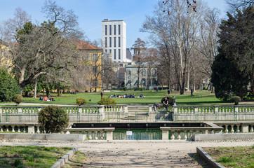 Milano, Giardini della Guastalla, Italia