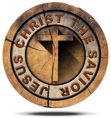 Jesus Christ the Savior - Wooden Symbol