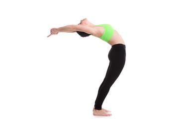 Standing Backward Bend (Ardha Chakrasana)