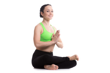 Fire Log yoga Pose