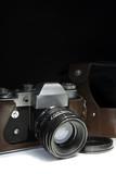 Old Retro Camera - 79940268