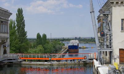 Шлюз №11 Волго-Донского канала