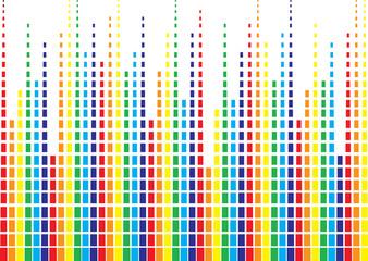 onda sonora arcobaleno