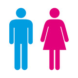 Fototapety Man and Woman Icons