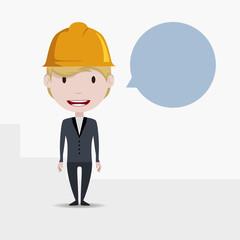 Worker concept illustration