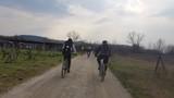 In bicicletta per la campagna toscana