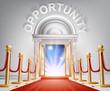 Opportunity Red Carpet Door