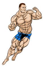 MMA Fighter or Wrestler