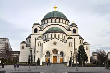 Church of Saint Sava in Belgrad