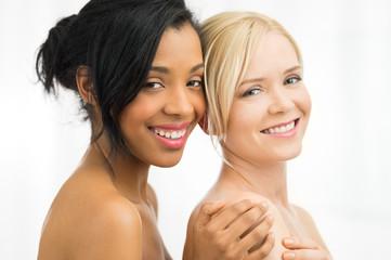 Smiling beauty women
