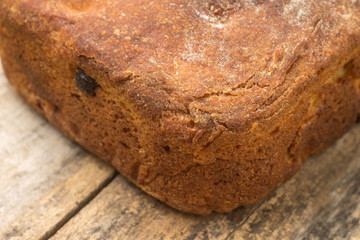 Close up image of wheat bread